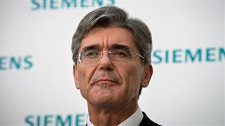 Joe Kaeser, CEO de Siemens
