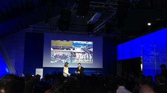 Inauguraci�n Innovation Center Microsoft deportes