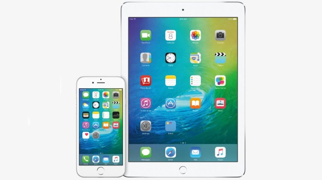 iPhone y iPad con iOS9