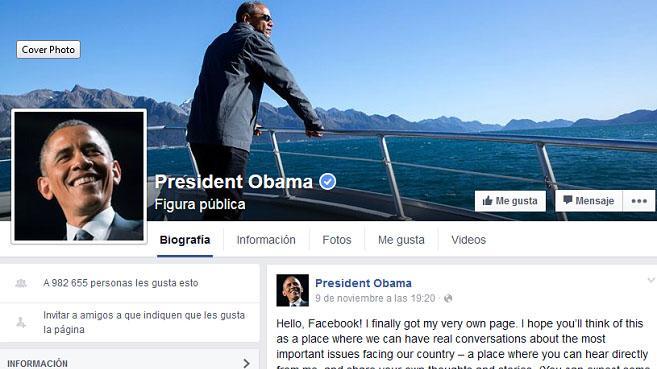 obama facebook