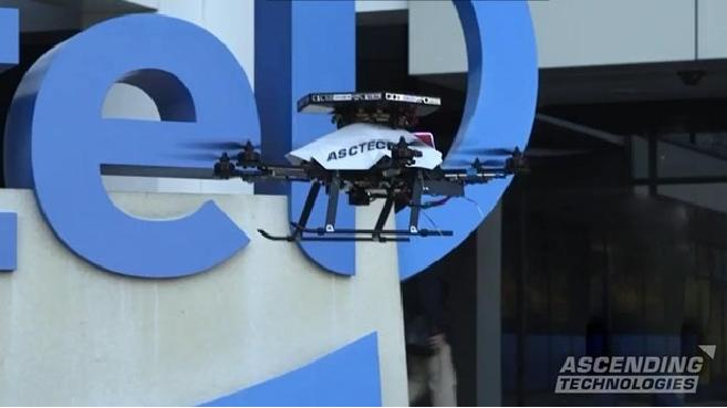 Ascending dron