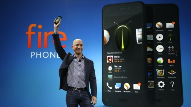 Jeff Bezos Amazon smartphone