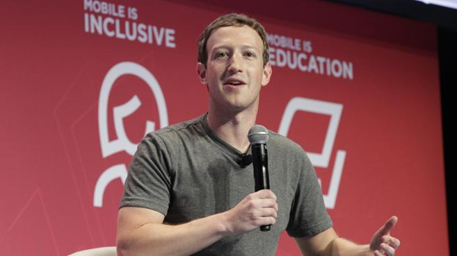 Mark Zuckerberg en MWC 2016