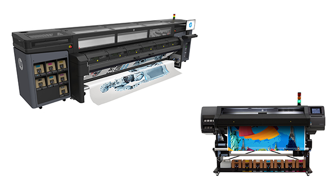 HP impresoras Latex 570 y 1500