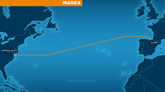 Microsoft y Facebook construir�n un cable submarino para unir Espa�a y Estados Unidos
