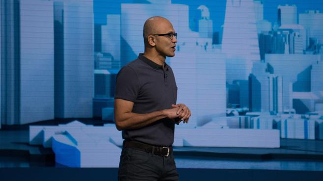 La nube de Microsoft contin�a en ascenso