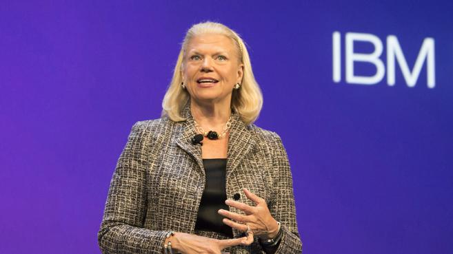 Ginni Rometty, CEO de IBM