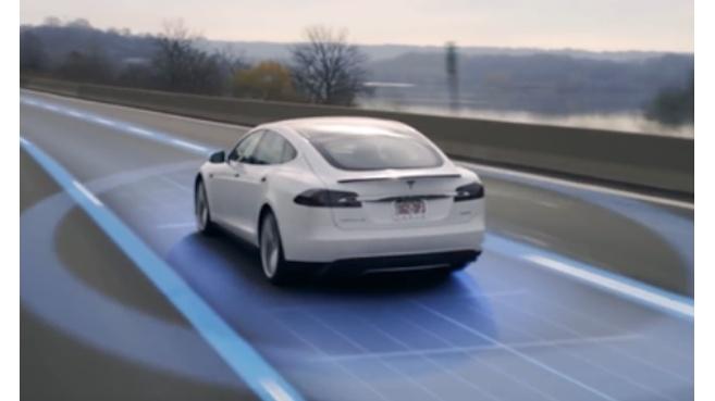 Los nuevos coches de Tesla ser�n 100% aut�nomos
