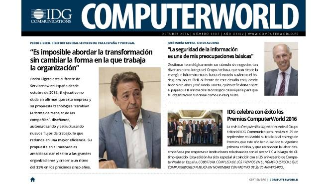 La transformaci�n digital como objetivo TIC en la nueva edici�n digital de Computerworld