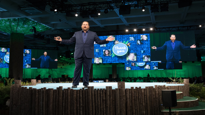 Marc Benioff, CEO de Salesforce