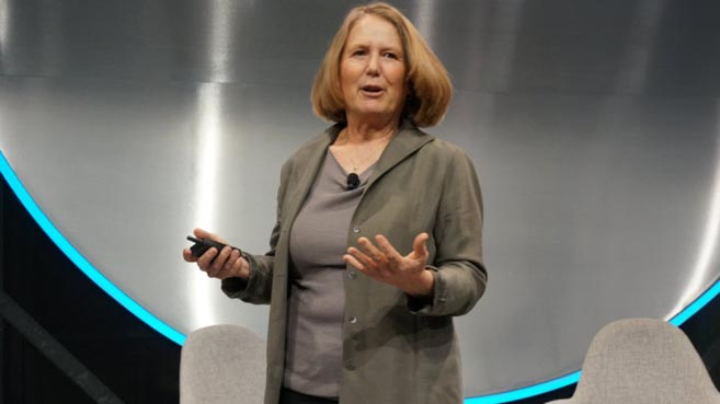 Diane Greene, jefa de Cloud de Google
