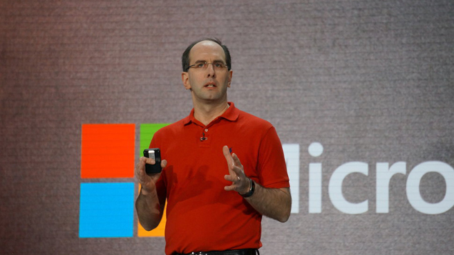 Scott Guthrie, vicepresidente ejecutivo de Microsoft Cloud y Enterprise