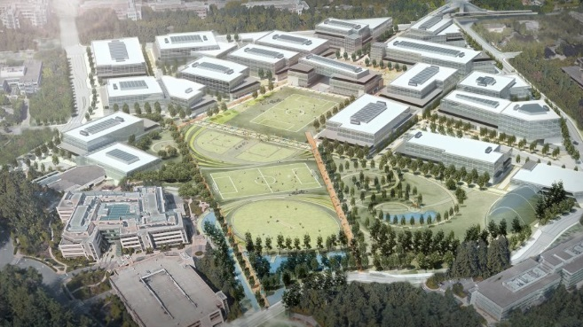 Microsoft Redmond Campus New