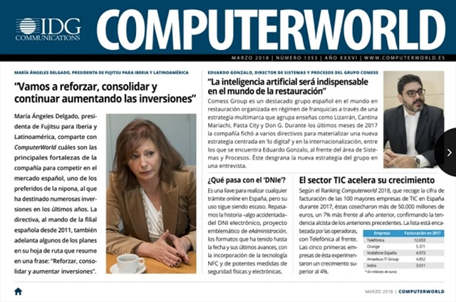 ComputerWorld portada marzo 2018