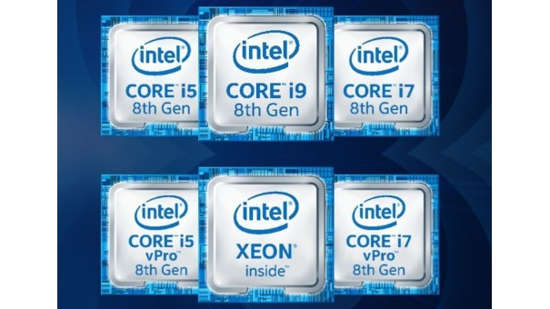 Intel Core chip 8ª generación
