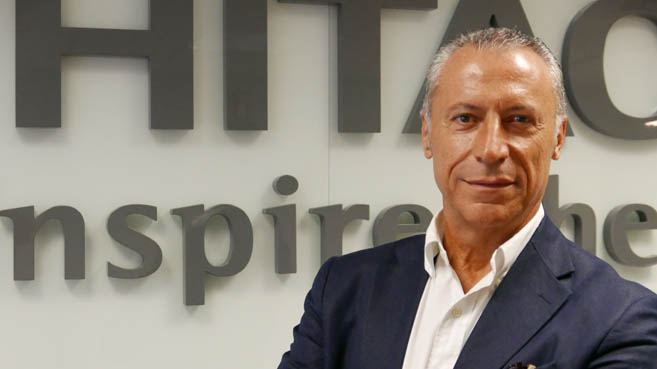 Ángel Fernández, Country Manager Hitachi Vantara Iberia