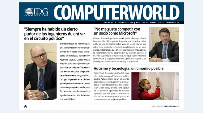 ComputerWorld portada junio 2018