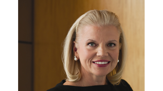 Virginia M Rometty (Giini Rometty), presidente y CEO de IBM