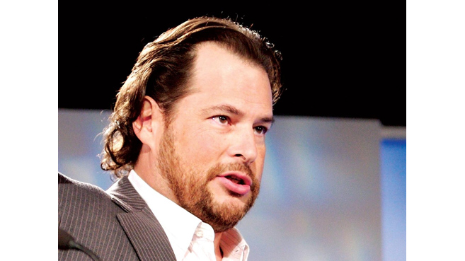 Marc Benioff, CEO de Salesforce.com