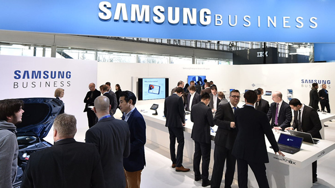 Samsung business cebit