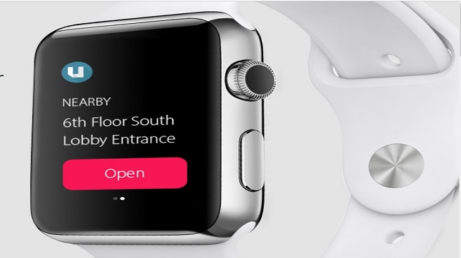 Usher de Microstrategy para Applewatch