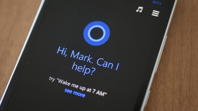 Cortana en Windows Phone