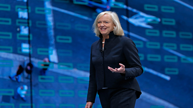 Meg Whitman, CEO de HPE