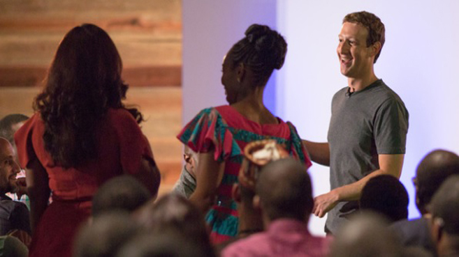 Mark Zuckerberg en África