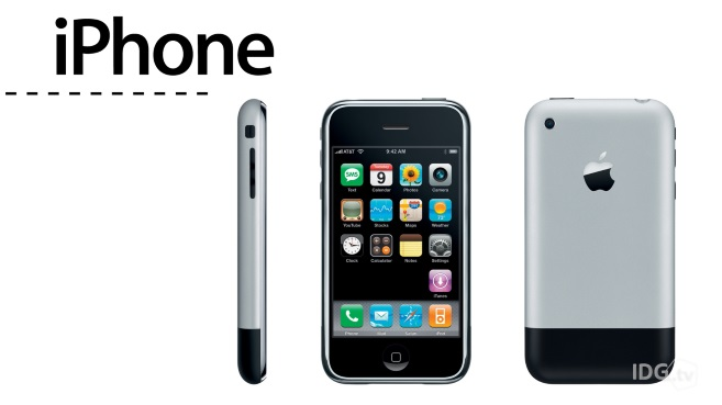 Evolucion iPhone 10 años