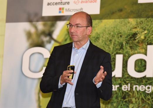 Robert Assink, director general de interxion