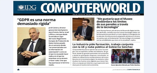 ComputerWorld portada julio agosto 2018