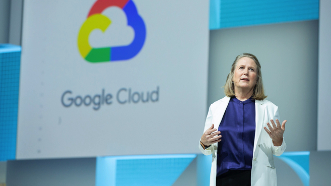 Diane Greene, CEO de Google Cloud