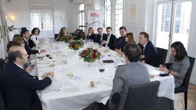 smart lunch de Kyocera en madrid