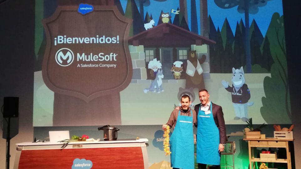 Salesforce da la bienvenida a Mulesoft en su evento
