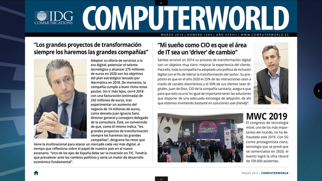 ComputerWorld portada marzo 2019