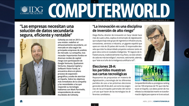 ComputerWorld portada abril 2019