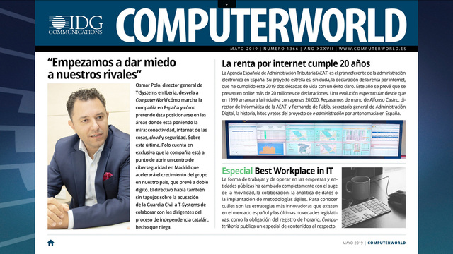 ComputerWorld portada mayo 2019