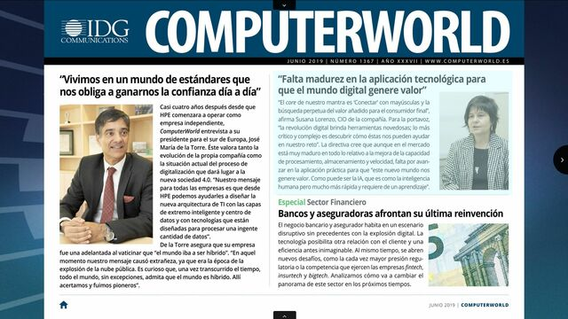 ComputerWorld portada junio 2019