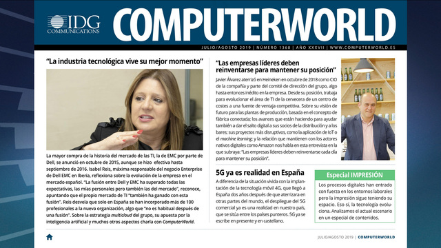 ComputerWorld portada julio 2019
