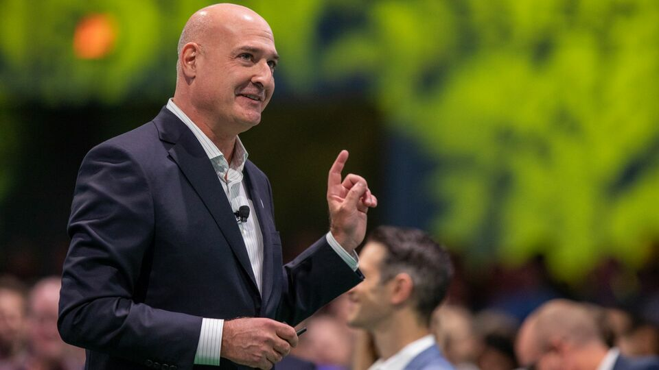 keith Block, coCEO de Salesforce