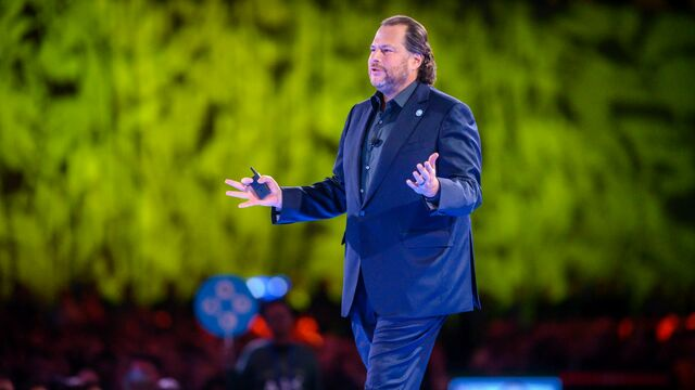 Marc Benioff, coCEO de Salesforce