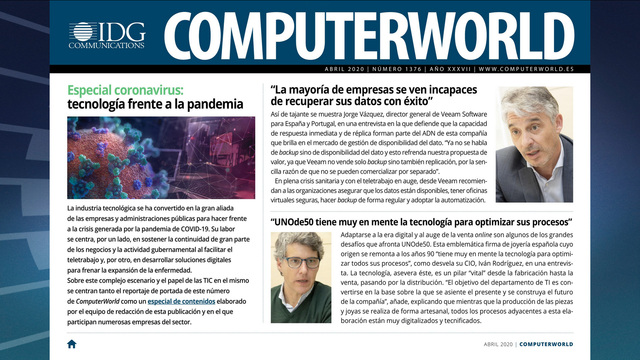 ComputerWorld portada abril 2020