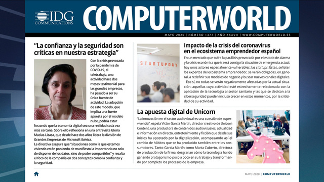 ComputerWorld portada mayo 2020