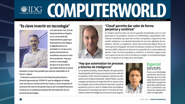ComputerWorld portada junio 2020
