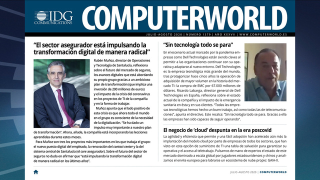 ComputerWorld portada julio 2020