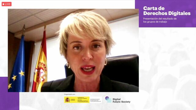 Carme Artigas, secretaria de Estado de Digitalización e Inteligencia Artificial
