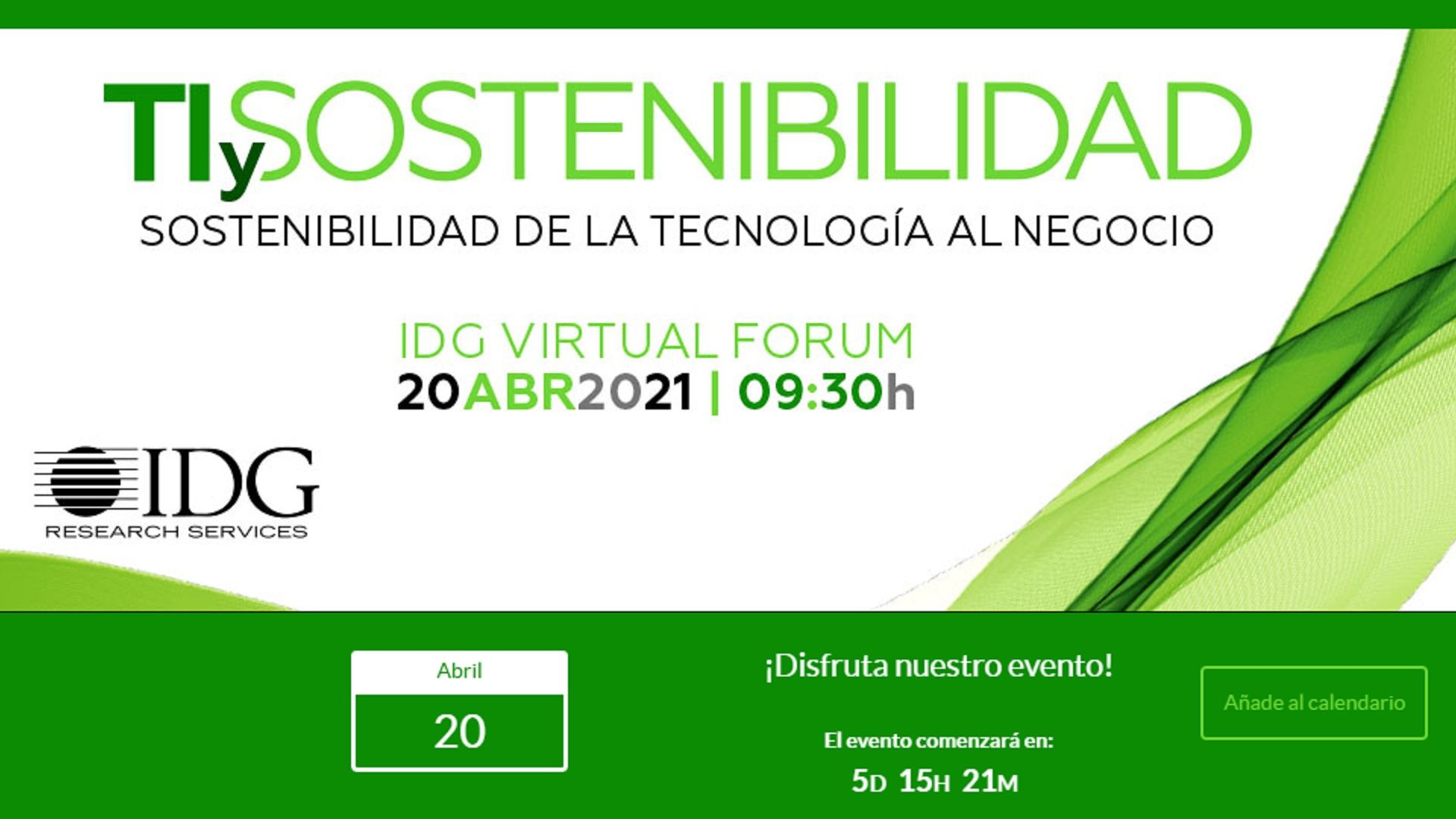 IDG Virtual Forum Sostenibilidad T-Systems